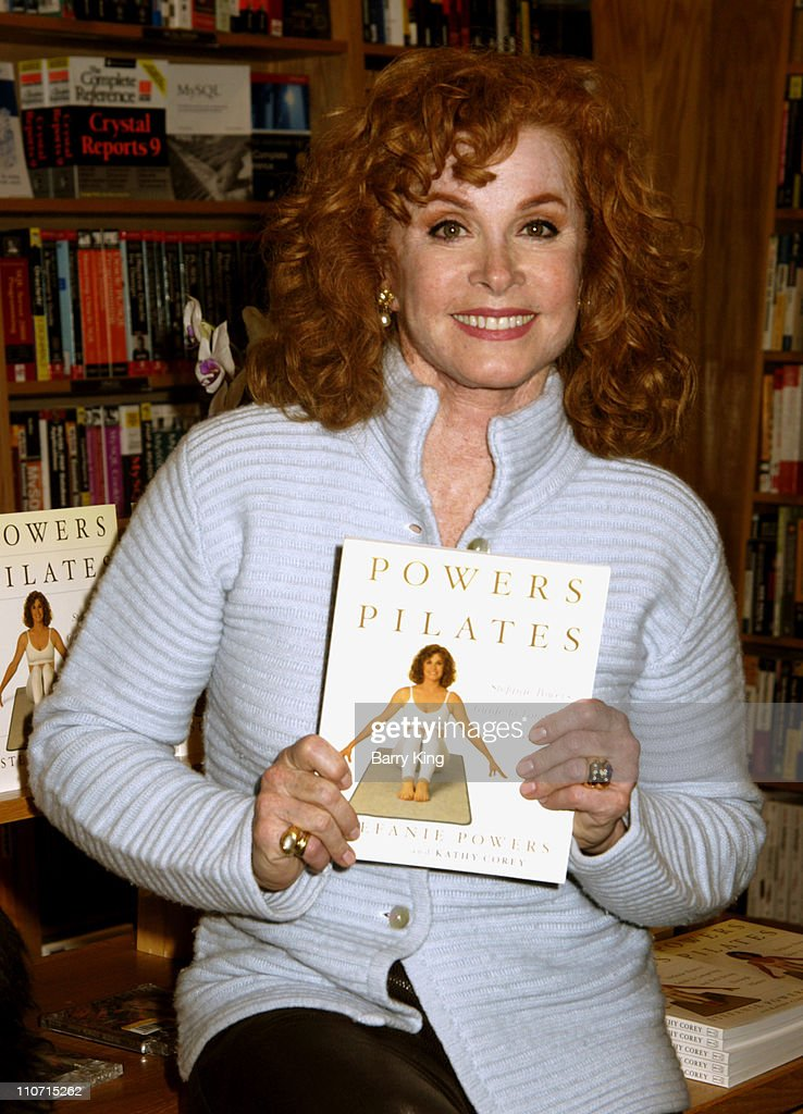"Stephanie Powers Signs Copies of her new book ""Power Pilates"" - April 11, 2005"