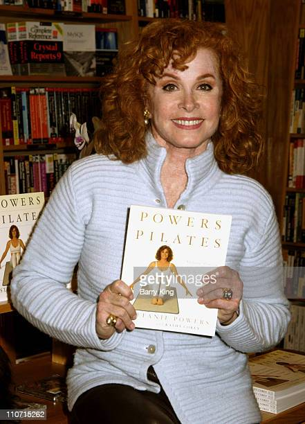 Stefanie Powers during Stephanie Powers Signs Copies of her new book 'Power Pilates' April 11 2005 at Borders Sherman Oaks in Sherman Oaks Califonia...