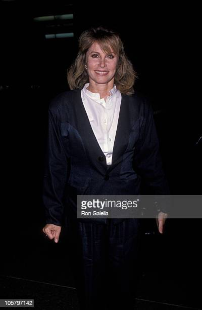 Stefanie Powers during The Bear Los Angeles Screening October 18 1989 at Director's Guild Theater in Hollywood California United States