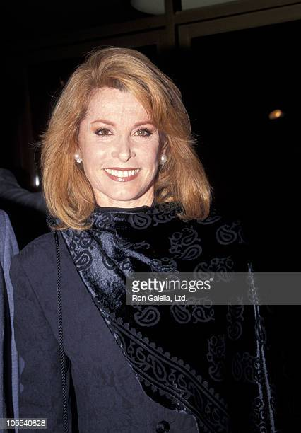 Stefanie Powers during The Crossing Guard Los Angeles Premiere at Mann's National Theater in Westwood California United States