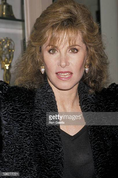 Stefanie Powers during 'The Hunt for Red October' Los Angeles Premiere at Paramount Studios in Hollywood California United States