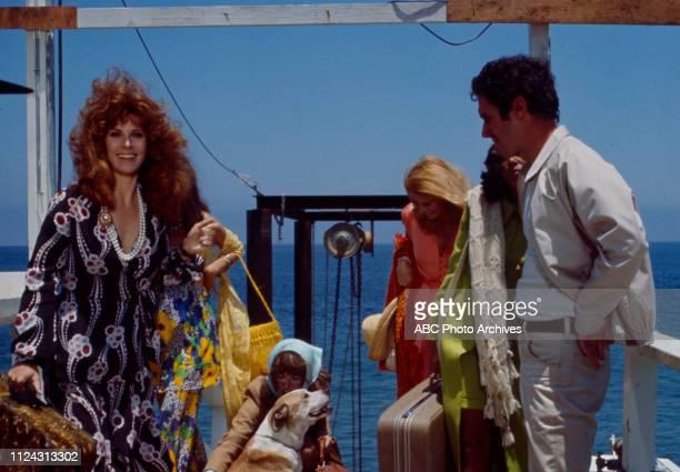 Stefanie Powers, Julie Sommars, Denise Nicholas, Bradford Dillman, Joan Hackett appearing in the Walt Disney Television via Getty Images tv movie...