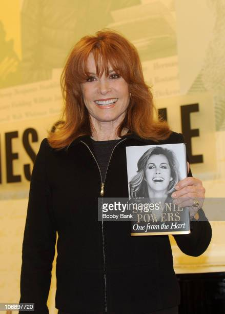 Stefanie Powers signs copies of her book 'One From the Hart' at Barnes Noble Lincoln Triangle on November 15 2010 in New York City