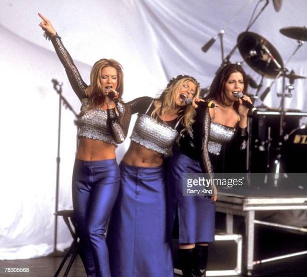 VIEW CA Stefanie Ridel Stacy Ferguson and Renee Sandstrom of Wild Orchid perform in 1999