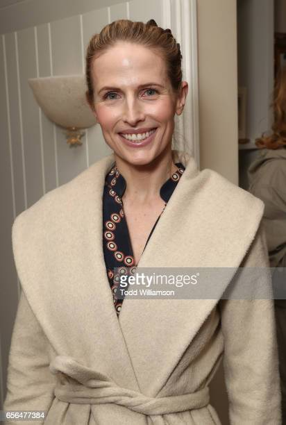 Stefanie Sherk attends a party for the 20th Anniversary of the Savannah Film Festival hosted by CAA Agent Tracy Brennan and presented by SCAD on...