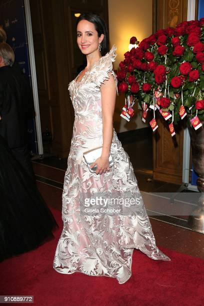 Stefanie Stumph during the Semper Opera Ball 2018 at Semperoper on January 26 2018 in Dresden Germany