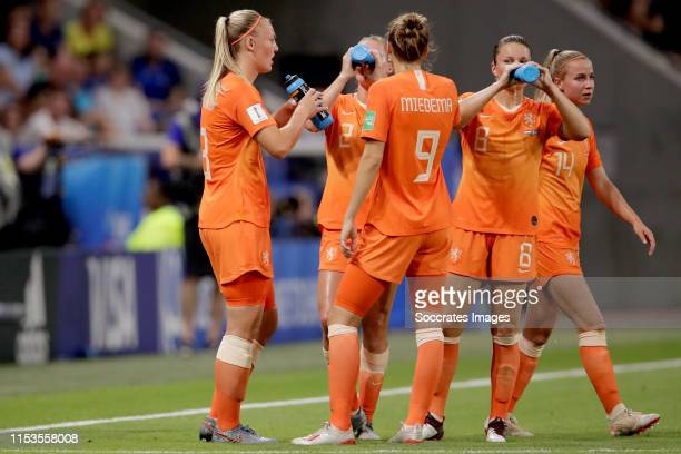 Stefanie van der Gragt of Holland Women Desiree van Lunteren of Holland Women Vivianne Miedema of Holland Women Sherida Spitse of Holland Women...