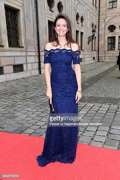 Stefanie von Daemmrich Luttiz attends the AMADE Deutschland Charity dinner on June 14 2016 in Munich Germany