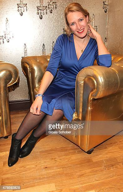 Stefanie von Poser attends the NDF After Work Presse Cocktail at Parkcafe on March 19 2014 in Munich Germany