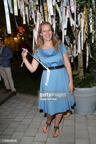 Stefanie von Poser during the Bavaria Film Reception One Hundred Years in Motion on the occasion of the 100th anniversary of the Bavaria Film Studios...