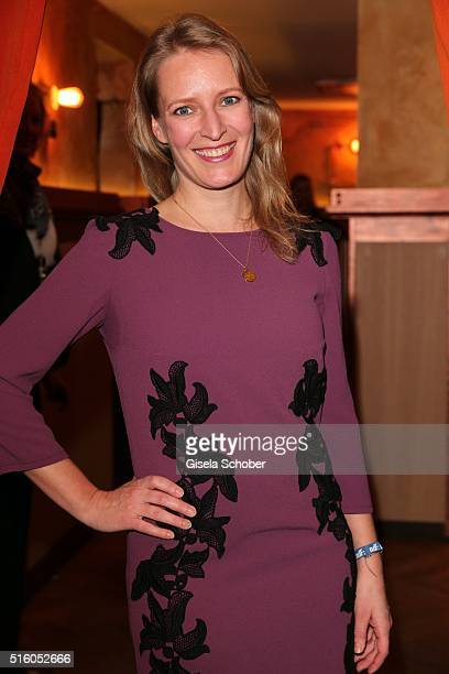 Stefanie von Poser during the NdF after work press cocktail 2016 at Park Cafe on March 16 2016 in Munich Germany
