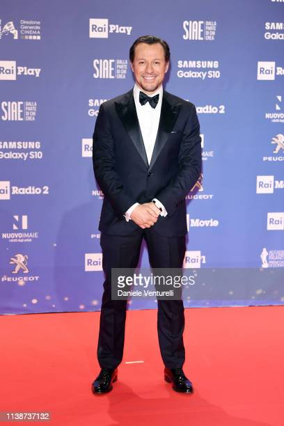 Stefano Accorsi attends the 64 David Di Donatello awards on March 27 2019 in Rome Italy