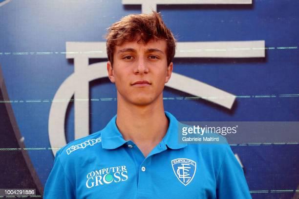 Stefano Becagli of Empoli U19 on July 23 2018 in Empoli Italy