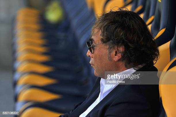 Stefano Bonacini Carpi's CEO during the Serie A football match between FC Carpi and SS Lazio at Braglia Stadium in Modena Lazio beat by 3 to 1 on...