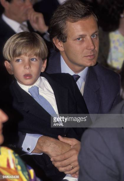 Stefano Casiraghi ansd son Andrea