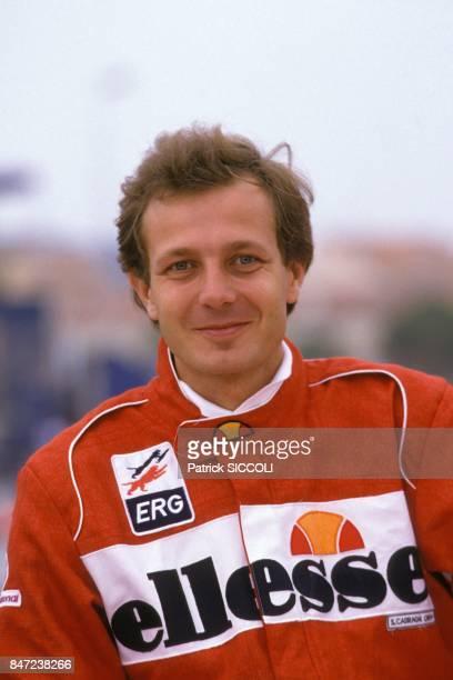 Stefano Casiraghi au Grand Prix Off Shore le 8 mai 1988 a Saint-Tropez, France.
