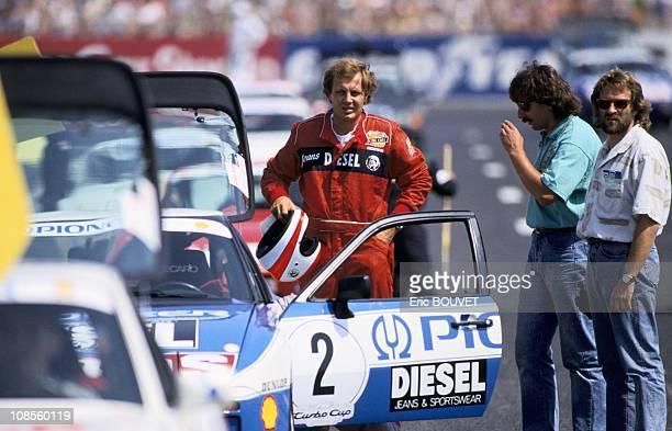 Stefano Casiraghi in France on July 09th 1989