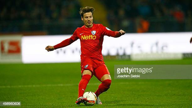 Stefano Celozzi of Bochum during the Second Bundesliga match between Eintracht Braunschweig and VfL Bochum at Eintracht Stadion on November 27 2015...