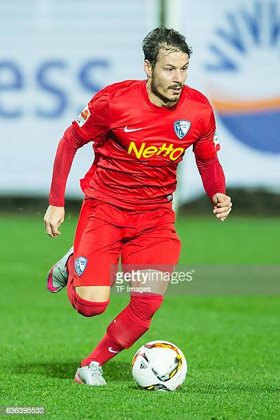 Stefano Celozzi of VfL Bochum in action during the Friendly Match between VfL Bochum and Hertha BSC at trainings camp on January 13 2016 in Belek...