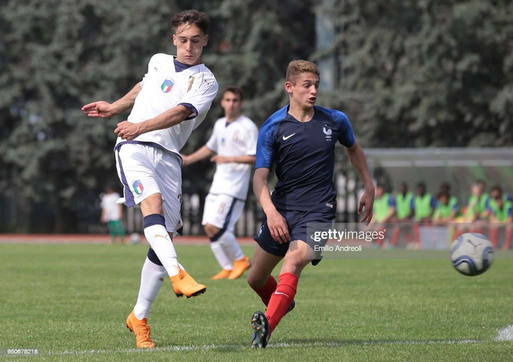 Italy U16 v France U16 - International Friendly