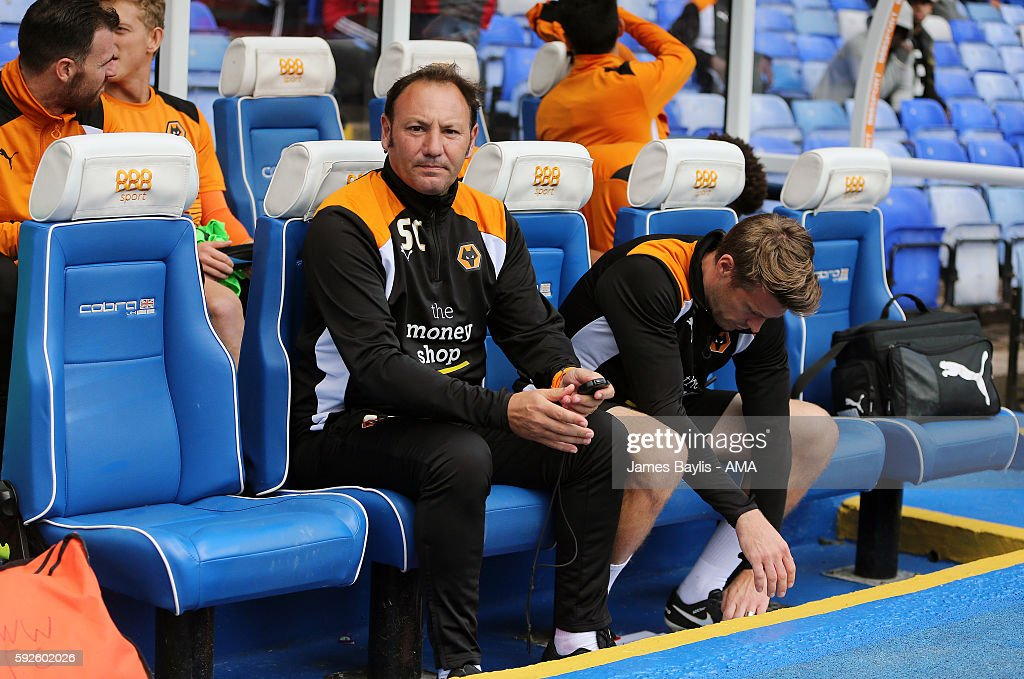 Stefano Cusin the assistant head coach of Wolverhampton Wanderers before the Sky Bet Championship match between Birmingham City and Wolverhampton Wanderers at St Andrews (stadium) on August 20, 2016 in Birmingham, England.
