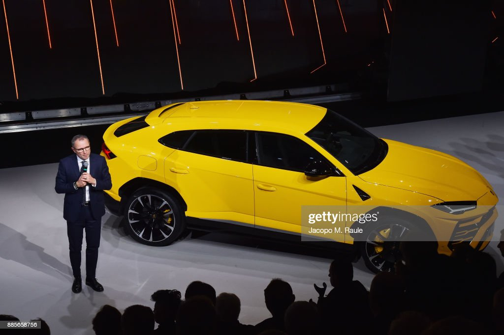 $200,000 - Cost of the new Lamborghini Urus SUV, which had a big reveal at the company's Sant'Agata Bolognese headquarters.