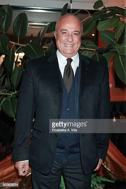 Stefano Dominella fashion house Gattinoni's president attends '2009 Margutta Awards' at Margutta RistoArte on November 24 2009 in Rome Italy