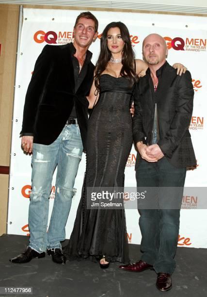 Stefano Gabbana Monica Bellucci and Domenico Dolce