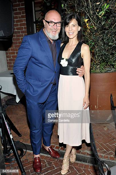 Stefano Galli and Perrey Reeves attend as Susan Casden and Friends of The Costume Institute The Metropolitan Museum of Art host a dinner in honor of...