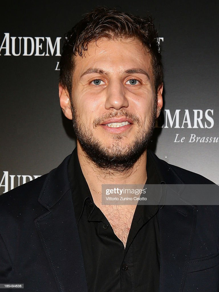 Stefano Mancinelli attends Audemars Piguet Cocktail on October 21, 2013 in Milan, Italy.