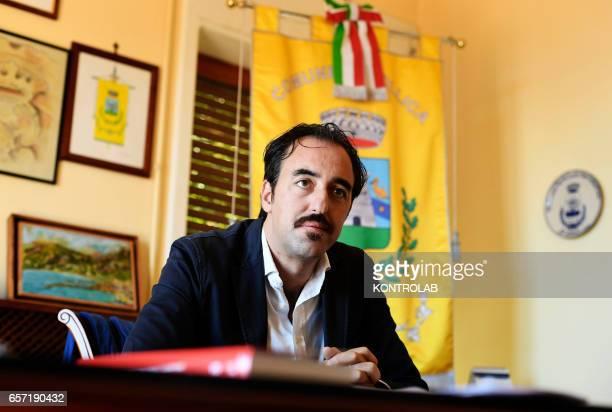 Stefano Pisani mayor of Acciaroli southern Italy