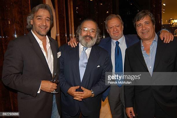Stefano Ricci Steve Neren and Mario Pippa attend Stefano Ricci and Sirio Maccioni Host the New York Opening of the Stefano Ricci Store at 407 Park...