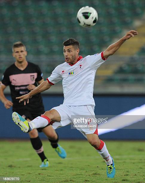 Stefano Sabelli of Bari in action during the Serie B match between AS Bari and US Citta di Palermo at Stadio San Nicola on September 24 2013 in Bari...