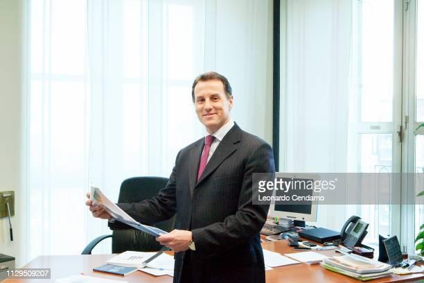 Stefano Scabbio, writer and President Manpower Italia