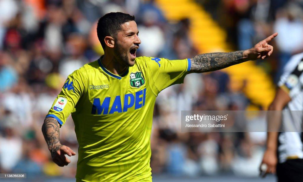 ITA: Udinese v US Sassuolo - Serie A