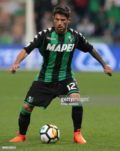 Stefano Sensi of US Sassuolo Calcio in action during the Serie A match between US Sassuolo and Udinese Calcio at Mapei Stadium Citta' del Tricolore...