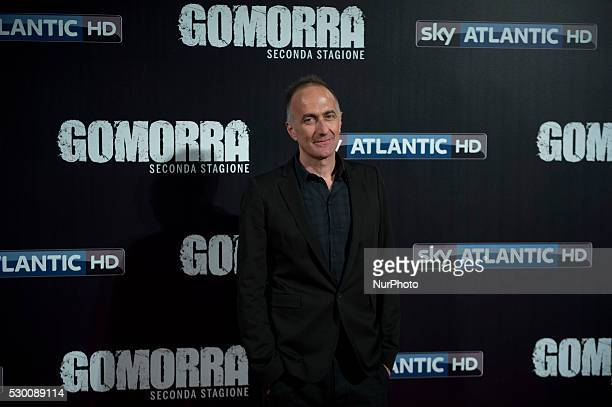 Stefano Sollima attends the 'Gomorra 2 - La serie' on red carpets at The Teatro dell'Opera in Rome, Italy on May 10, 2016.