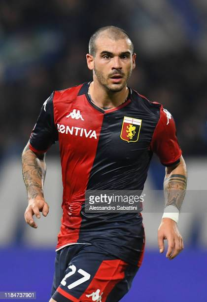 Stefano Sturaro of Genoa CFC looks on during the Serie A match between SPAL and Genoa CFC at Stadio Paolo Mazza on November 25 2019 in Ferrara Italy
