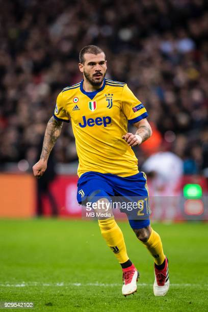 Stefano Sturaro of Juventus during the UEFA Champions League Round of 16 Second Leg match between Tottenham Hotspur and Juventus at Wembley Stadium...