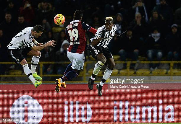 Stefano Sturaro of Juventus FC in action during the Serie A match between Bologna FC and Juventus FC at Stadio Renato Dall'Ara on February 19 2016 in...