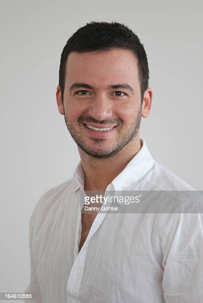 Stefano Terrazzino poses at a photo call for the sixth season on Germany's RTL network competition 'Let's Dance' on March 25 2013 in Ahrenshoop...