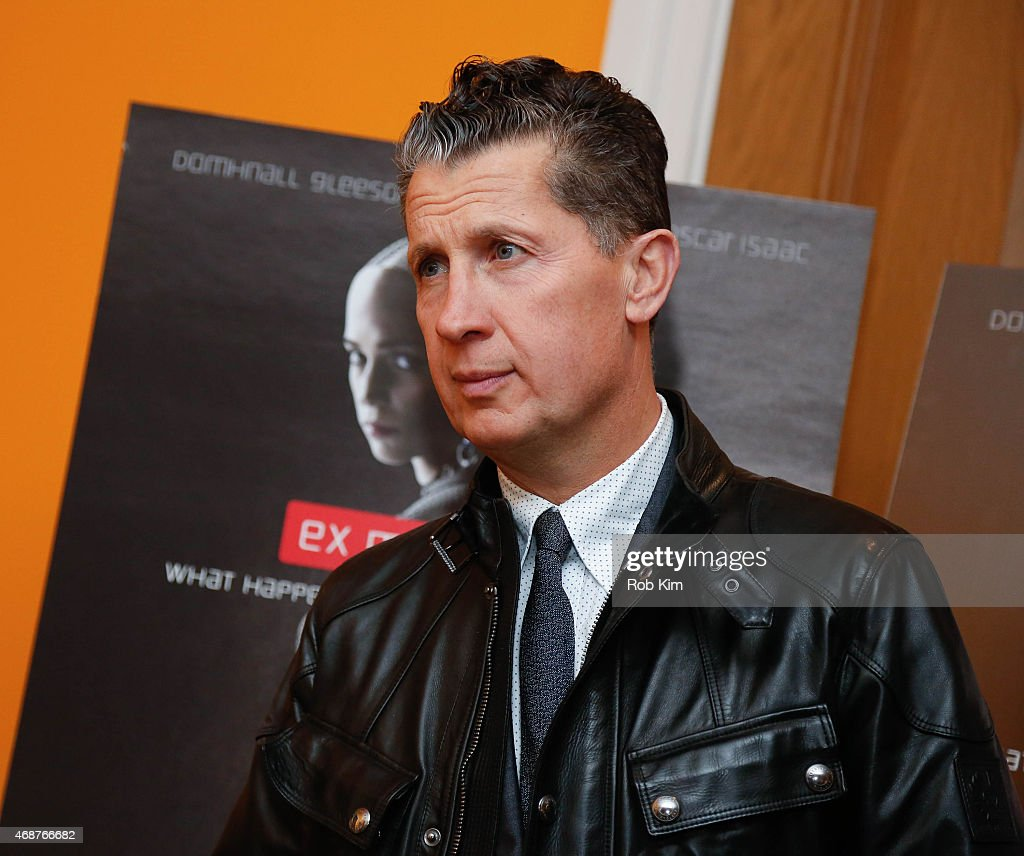 Stefano Tonchi attends 'Ex Machina' New York Premiere at Crosby Street Hotel on April 6, 2015 in New York City.
