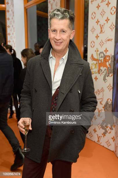 Stefano Tonchi attends the Louis Vuitton X Grace Coddington Event on October 25 2018 in New York City