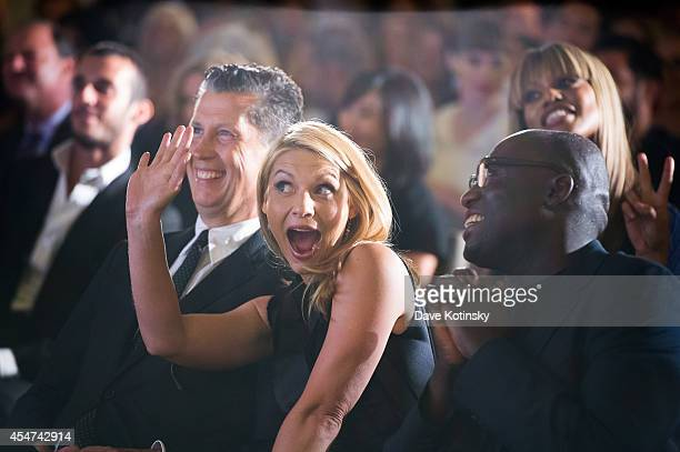Stefano Tonchi Claire Danes and Edward Enninful attend The Daily Front Row Second Annual Fashion Media Awards at Park Hyatt New York on September 5...
