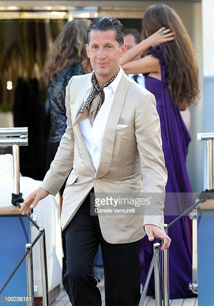 Stefano Tonchi depart for Naomi Campbell's birthday party during the 63rd Annual International Cannes Film Festival on May 22 2010 in Cannes France