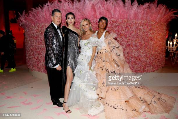 Stefano Tonchi Hikari Mori Tory Burch and Kerry Washington attend The 2019 Met Gala Celebrating Camp Notes on Fashion at Metropolitan Museum of Art...