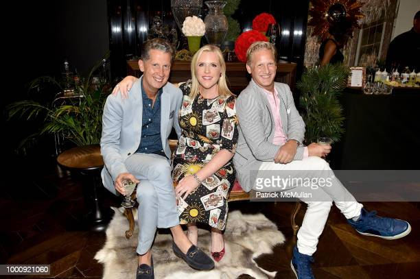 Ryan Tarpley and Jill Dodds attend High Roller's Night hosted by Baccarat with WPT DJ Mad Marj at Baccarat Flagship on July 17 2018 in New York City