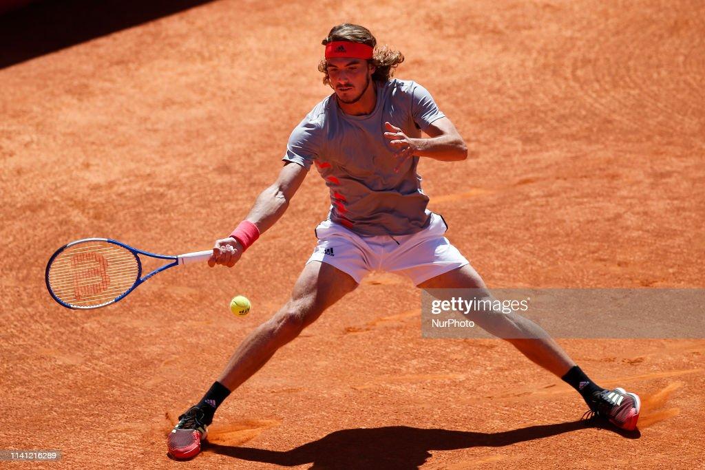 Estoril Open 2019 - Stefanos Tsittsioas v David Goffin : News Photo