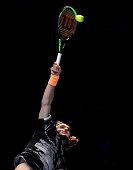 stefanos tsitsipas action during singles final