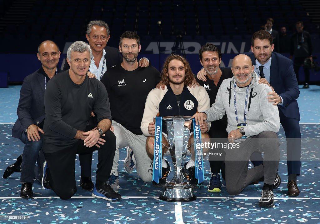 Nitto ATP World Tour Finals - Day Eight : Fotografía de noticias